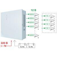 SKAT-V.8 Источник вторичного электропитания резервированный 12В/4А